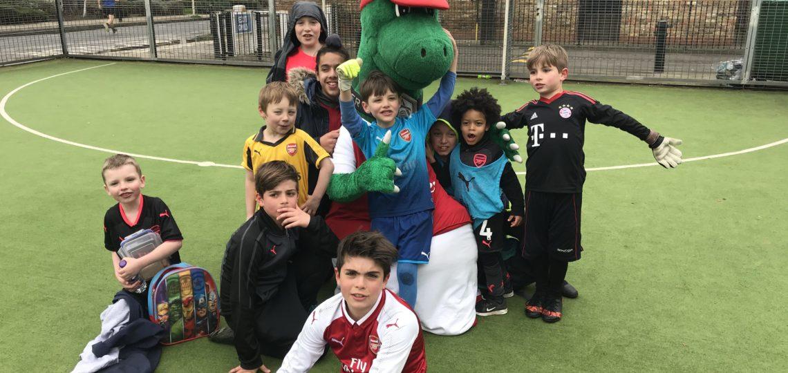 Arsenal Kids Coaching Session April 2018